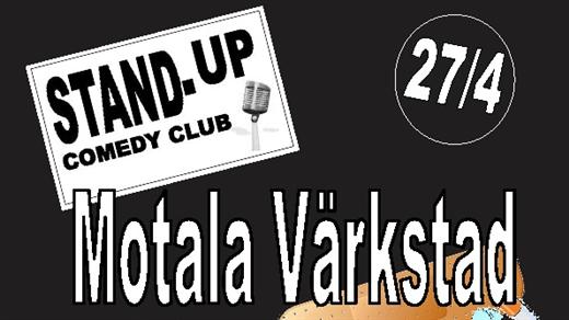 Bild för Motala Värkstad - Stand Up Comedy Club, 2017-04-27, Café Bar  Kök Sjöbris