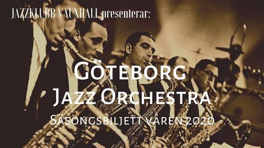 Bild för Jazzklubb Vauxhall: GJO säsongsbiljett våren 2020, 2019-12-25, Contrast Public House, Tredje Långgatan 16