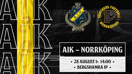 Bild för AIK - Norrköping, 2021-08-28, Bergshamra IP