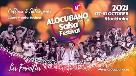 Bild för Alocubano Salsa Festival 2021 Stockholm, 2021-10-07, Radisson Blu Royal Park Solna