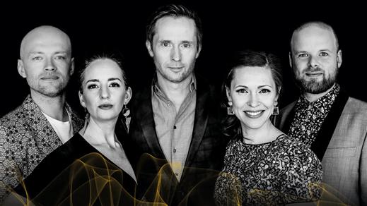 Bild för The Real Group - Julkonsert, 2019-12-16, UKK - Stora salen