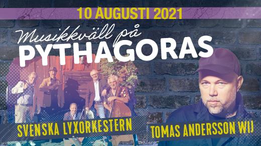 Bild för Tomas Andersson Wij + Svenska Lyxorkestern, 2021-08-10, Pythagoras industrimuseum