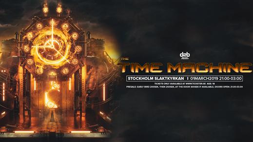 Bild för D2B Presents: The Time Machine, 2019-03-01, Slaktkyrkan