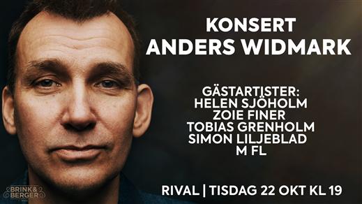 Bild för Anders Widmark | Rival, 2019-10-22, Rival