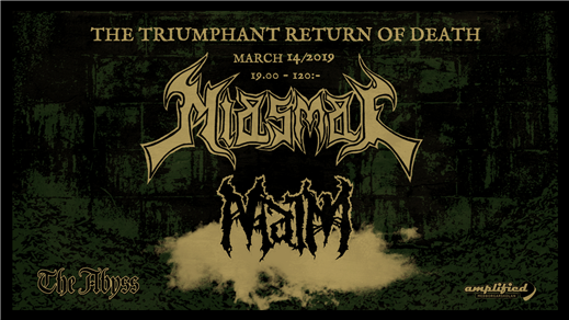 Bild för Miasmal and Maim live at The Abyss, 2019-03-14, The Abyss Gothenburg