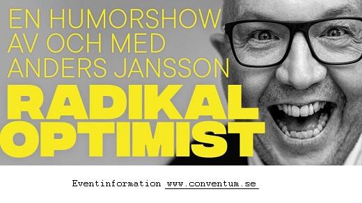 Bild för Anders Jansson - Radikal Optimist, 2019-03-01, Conventum Kongress