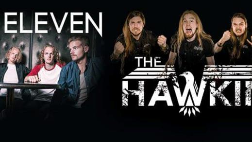 Bild för Gain Eleven & The Hawkins, 2016-10-29, Båten
