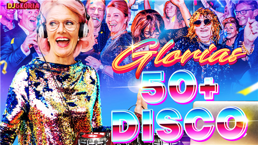 Bild för Glorias 50+ DISCO HALMSTAD 29 april 2022, 2022-04-29, Halmstad Live