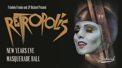 Bild för FFP Retropolis – 20's NYE Masquerade Ball, 2019-12-31, Nalen – Stora Salen, Stockholm