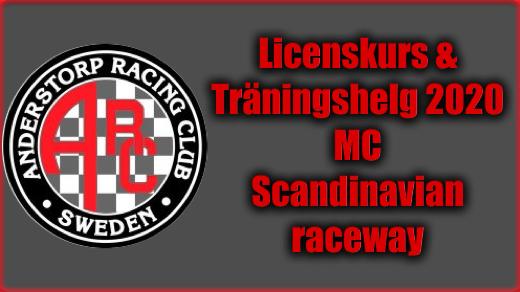Bild för ARC Träningsdag MC 12-13 Juni 2020, 2020-06-12, Scandinavian Raceway