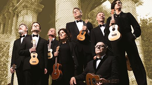 Bild för The Ukulele Orchestra of Great Britain, 2018-03-04, UKK - Stora salen