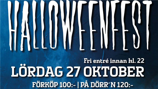 Bild för Halloweenfest på Qwarn, 2018-10-27, Westerqwarn Pub & Restaurang