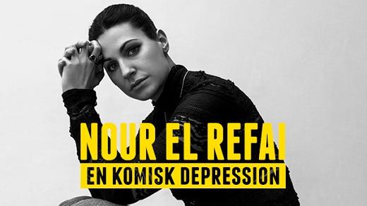 Bild för Nour El Refai – En komisk Depression, 2017-10-01, Conventum Kongress