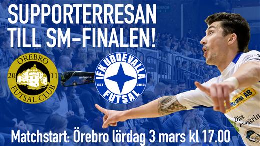 Bild för SM-final - supporterresan, 2018-03-03, Agnebergshallen