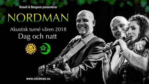 Bild för Nordman - Dag och Natt, 2018-03-23, Folkan Teater
