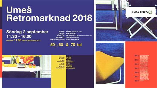Bild för Umeå Retromarknad 2018, 2018-09-02, Biljettkassan