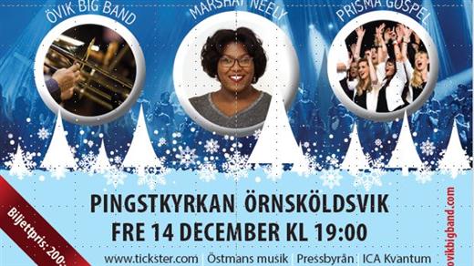 Bild för Övik Big Band - What Christmas means to us, 2018-12-14, Pingstkyrkan i Örnsköldsvik