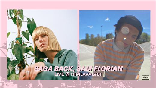 Bild för Saga Back & Sam Florian, 2021-09-23, Kafé Himlavalvet