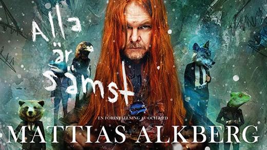 Bild för Mattias Alkberg - Alla är sämst på Sagateatern, 2018-12-08, Sagateatern Borås