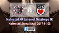 Halmstad HF vs. Grästorps IK
