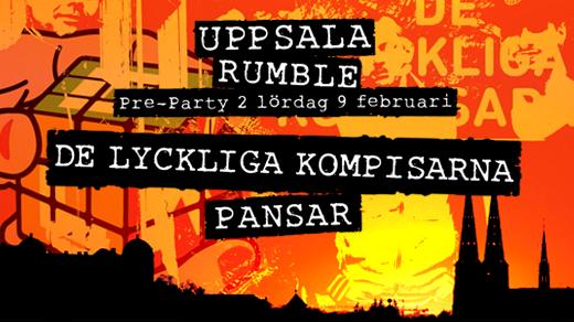 Bild för Uppsala Rumbles Pre-Party - De Lyckliga Kompisarna, 2019-02-09, Katalin