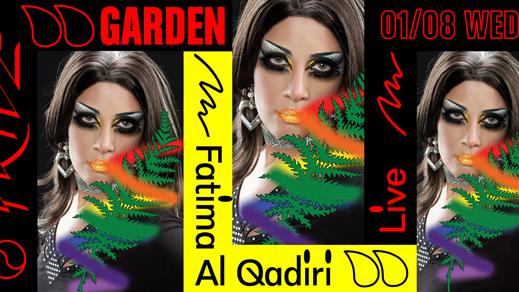 Bild för Pride Garden Live: Fatima Al Qadiri, 2018-08-01, Trädgården