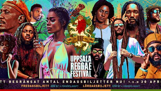 Bild för Uppsala Reggae Festival 2018, 2018-07-27, KAP Uppsala