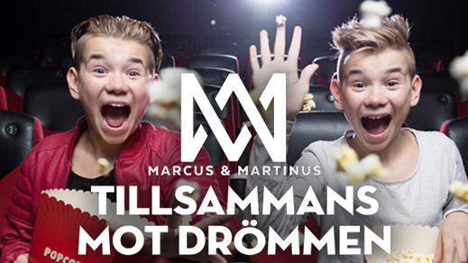 Bild för Marcus & Martinus - Tillsammans mot drömmen, 2017-01-20, Emmboda Folkets Hus