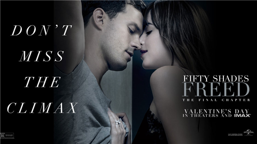 Bild för Fifty Shades Freed (15år), 2018-02-11, Metropolbiografen