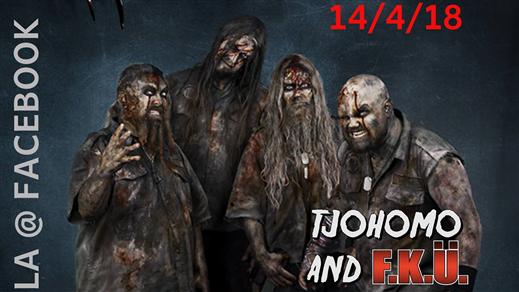 Bild för Tjohomo and FKU Horror Freak Night, 2018-04-14, Bomber Bar Motala