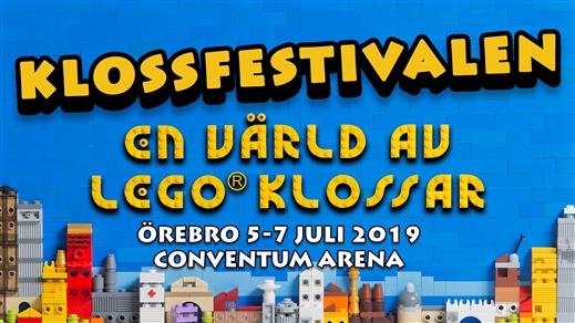 Bild för Klossfestivalen 5-7 juli 2019, 2019-07-05, Conventum Arena