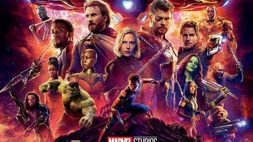 Bild för Avengers: Infinity War  -  3D, 2018-04-29, Kulturhuset i Svalöv