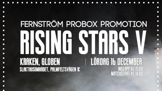Bild för Rising Stars V, 2017-12-16, enArena Globen