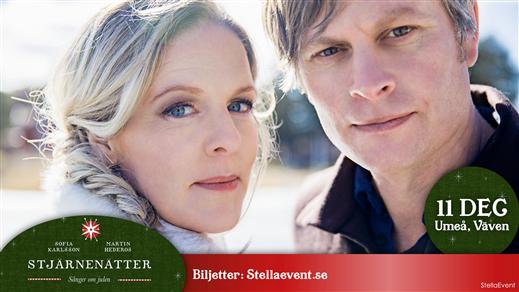 Bild för Stjärnenätter - sånger om julen, 2018-12-11, Väven