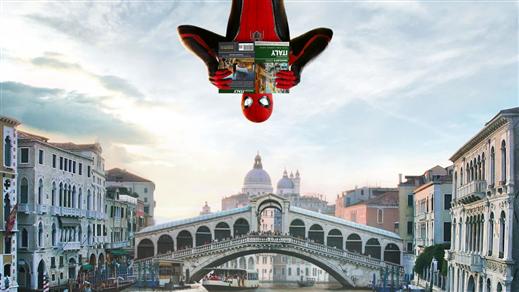 Bild för Spider-Man: Far from Home 15:00, 2019-07-05, Estrad