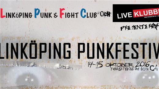 Bild för Linköpings punkfestival lördag, 2016-10-15, Palatset