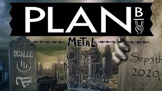 Bild för METALORGIE 2.0, 2020-09-05, Plan B