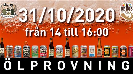 Bild för Ölprovning 31-10-2020, 2020-10-31, Två Feta Grisar Bryggeri