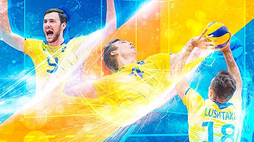Bild för EM-kval volleyboll herrar, 2018-08-18, Idrottshuset Örebro