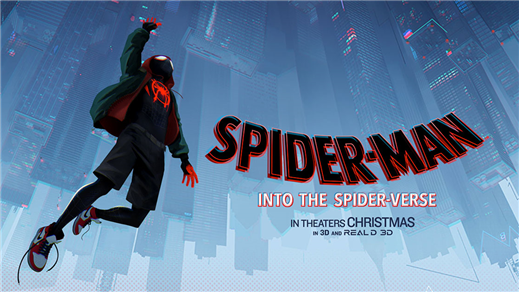 Bild för Spider-Man: Into The Spider-Verse (aka Animated Sp, 2018-12-15, Essegården