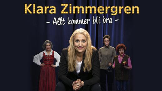 Bild för Klara Zimmergren - Allt kommer bli bra, 2021-12-11, Hjalmar Bergman Teatern