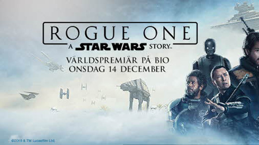 Bild för Rogue One: A Star Wars Story (11år), 2016-12-17, Metropolbiografen