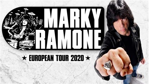 Bild för Marky Ramone (US) + support, 2021-06-11, Musikens Hus Stora Scen