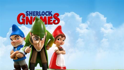 Bild för Mästerdetektiven Sherlock Gnomes, 2018-04-22, Bio Oskar