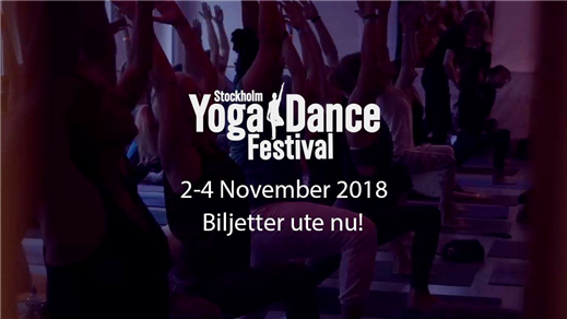 Bild för Stockholm Yoga & Dance Festival, 2018-11-02, Balletakademin YoDa festivalen