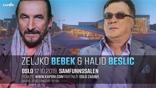 Bild för Halid Beslic & Zeljko Bebek - Oslo, 2019-10-12, Samfunnssalen