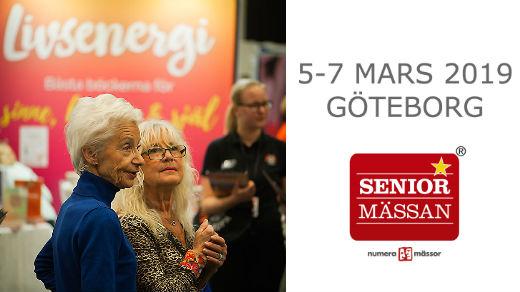 Bild för Seniormässan Göteborg 2019, 2019-03-05, Svenska Mässan