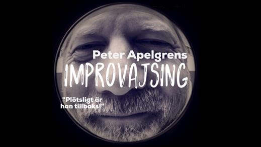 Bild för PETER APELGREN - IMPROVAJSING 24/3 KL 19:30, 2018-03-24, Hebeteatern, Folkets Hus Kulturhuset