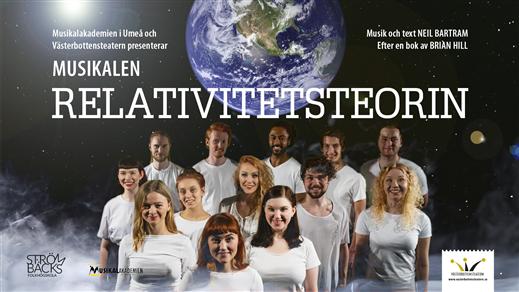 Bild för Relativitetsteorin 11/5 kl. 19:00, 2019-05-11, Salong Stora Scenen, Västerbottensteatern