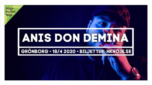 Bild för Anis Don Demina | Grönborg, Sundsvall, 2020-04-18, Grönborg